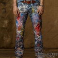 �ǥ˥�&���ץ饤��Denim & Supply : Slim-Fit Paint-Splatter Jean