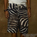 �ǥ˥�&���ץ饤 :Zebra-Print Board Short