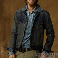 �ǥ˥�&���ץ饤 :Standon Denim Jacket