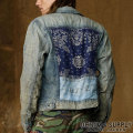 �ǥ˥�&���ץ饤 :Denim Trucker Jacket