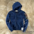 Denim & Supply Ralph Lauren���ǥ˥� & ���ץ饤 ���ե?��� : Washed Fleece Flag Full-Zip