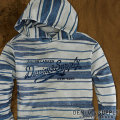 Printed Fleece Hoodie