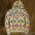 �ǥ˥�&���ץ饤 : Patterned Fleece Hoodie [�ͥ��ƥ���̱²��������ꥫ���ץ륪���С��ѡ�����]