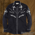 �ǥ˥�&���ץ饤 :  Embroidered Rodeo Shirt