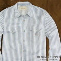 �ǥ˥�&���ץ饤 :  Striped Western Shirt