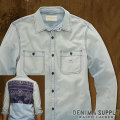 &amp; :  Sun-Faded Utility Shirt