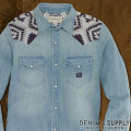 �ǥ˥�&���ץ饤 :  Embroidered Cowboy Shirt