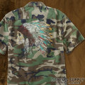 �ǥ˥�&���ץ饤 :  Painted Skull Camo Shirt