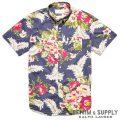 �ǥ˥�&���ץ饤�����ե?��� : Floral Wayland Sport Shirt [���åȥ�ݥץ�ե?�������Ⱦµ�����]