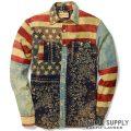 �ǥ˥�&���ץ饤�����ե?��� : Ward Americana Cotton Shirt [���åȥХ����������ꥫ��ե�å���ŵ�����]