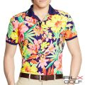 RLX ����ա����ե?��� : Pro-Fit Floral Polo Shirt [®�����ȥ�å����ե?�������Ⱦµ�ݥ?���]