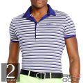 RLX ����ա����ե?��� : Slim-Fit Striped Polo Shirt [����®�������ȥ�å���Ⱦµ�ݥ?���]