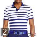 RLX ����ա����ե?��� : Tailored-Fit Striped Polo [����®�������ȥ�å���Ⱦµ�ݥ?���]