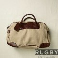 �饰�ӡ� ���ե?���Rugby Ralph Lauren : Canvas and Leather Weekender