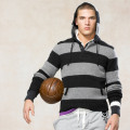 ���ե?���饰�ӡ���Ralph Lauren RUGBY : STRIPED WOOL HOODED SWEATER