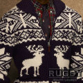 ���ե?���饰�ӡ���Rugby : Nordic Reindeer Zip-Up