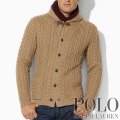 �ݥ���ե?��� : Cable Shawl Cardigan