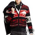 �ݥ���ե?��� : Intarsia-Reindeer Zip Cowichan [������֥��ɡ��ȥʥ����������åץ��åץ�������]