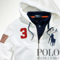�ݥ���ե?��� : USA Big Pony Full-Zip Hoodie