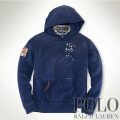 �ݥ���ե?��� : USA Patch Fleece Hoodie