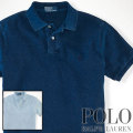 �ݥ���ե?��� : Custom-Fit Indigo Polo