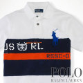 �ݥ���ե?��� : RL Striped Rescue Polo