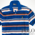 ? : Classic-Fit Multi-Striped Polo