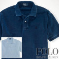 ? : Classic-Fit Indigo Polo
