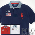 �ݥ���ե?��� : Classic-Fit Flag Big Pony Polo