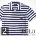 �ݥ���ե?��� : Striped Cotton Jersey Polo [���̥��åȥ㡼������Ⱦµ�ݥ?���]