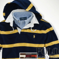 �ݥ���ե?��� : Custom Striped Hooded Rugby