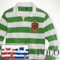 ? : Long-Sleeved Striped Rugby