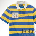 ? : Custom-Fit Striped Rugby