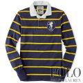 �ݥ���ե?��� : Custom-Fit Striped Rugby Shirt [�饬�������]