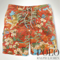 �ݥ���ե?���Polo : Tiger Floral-Print Swim Trunk