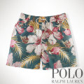 "�ݥ���ե?��� :Traveler 6"" Floral Swim Short"