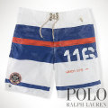 ? :Sanibel 8&quot; Striped Swim Trunk