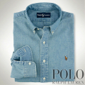 �ݥ���ե?��� : Custom-Fit Chambray Shirt