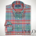 �ݥ���ե?��� : Custom-Fit Plaid Oxford
