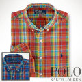 �ݥ���ե?��� : Classic-Fit Bright Plaid Shirt