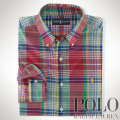 �ݥ���ե?��� : Classic-Fit Plaid Shirt
