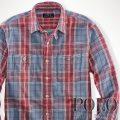 �ݥ���ե?��� : Plaid Cotton Twill Workshirt [��ä��ꥹ��������ɡ����åȥ�ĥ��롿�����å���ŵ�����]