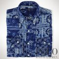 �ݥ���ե?��� : Shibori Patchwork Sport Shirt [��ä��ꥹ��������ɡ����̥�ͥ��ܥ�����ѥå������ŵ�����]