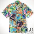 �ݥ���ե?��� : Hawaiian Patchwork Camp Shirt [��ä���ե��åȡ��졼��ϥ磻���ѥå������Ⱦµ�����]