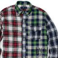 �ݥ���ե?��� : Patchwork Plaid Linen Shirt [��ä���ե��åȡ���ͥ󡿥����å����ѥͥ롿ŵ�����]