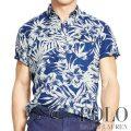 �ݥ���ե?��� : Floral-Print Linen Shirt [��ä���ե��åȡ���ͥϥ��ӥ����������ݥåץ����С���Ⱦµ�����]