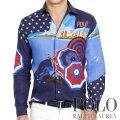 �ݥ���ե?��� : Team USA Linen Sport Shirt [������USA����ä���ե��åȡ��ꥪ���ʥץ��ȡ�ŵ�����]