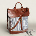 RRL�����֥륢���륨�� : Coalmont Striped Satchel