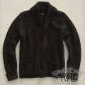 RRL : Plaited Shawl-Collar Cardigan