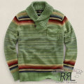 RRL : Faded Shawl-Collar Pullover